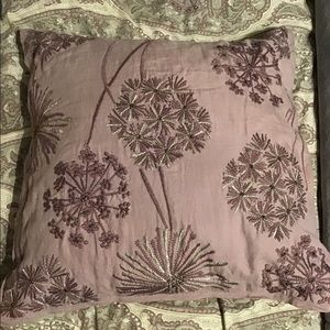 Pottery Barn decorative pillow